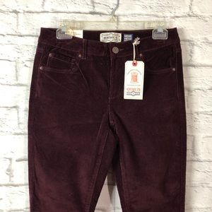 3/$15 GARAGE Corduroy Ankle High Waist Jeggings